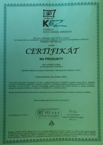 certifikatkez