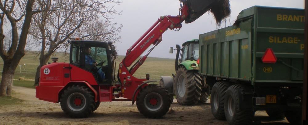 Vyvážení hnojů